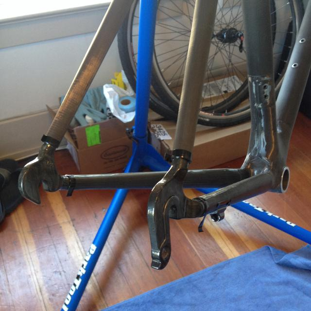 My Trek 5200 Bare Carbon Build : Staminist Cycling Forum